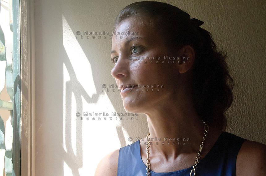 Palermo, centro studi dei gesuiti &quot;Istituto Arrupe&quot;: la direttrice Nicoletta Purpura <br /> Palermo, institute of Political Education of the Jesuits &quot;Pedro Arrupe&rdquo; : the director Nicoletta Purpura