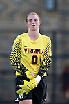 26 September 2013: Virginia's Morgan Stearns. The Duke University Blue Devils hosted the University of Virginia Cavaliers at Koskinen Stadium in Durham, NC in a 2013 NCAA Division I Women's Soccer match. Virginia won the game 3-2.