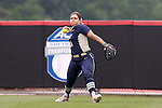 12 May 2016: Pitt's Giorgiana Zeremenko. The Florida State University Seminoles played the University of Pittsburgh Panthers at Dail Softball Stadium in Raleigh, North Carolina in a 2016 Atlantic Coast Conference Softball Tournament quarterfinal game. Florida State won the game 8-0 by run rule with one out in the bottom of the sixth inning.