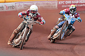 Lee Richardson and Kauko Nieminen - Birmingham Brummies vs Lakeside Hammers - Elite League Speedway - 21/07/11 - MANDATORY CREDIT: TGSPHOTO - Self billing applies where appropriate - 0845 094 6026 - contact@tgsphoto.co.uk - NO UNPAID USE.