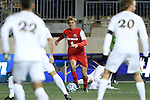13 December 2013: New Mexico's Riley McGovern. The University of Notre Dame Fighting Irish played the University of New Mexico Lobos at PPL Park in Chester, Pennsylvania in a 2013 NCAA Division I Men's College Cup semifinal match. Notre Dame won the game 2-0.