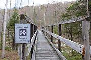 Pemi Wilderness Suspension Bridge