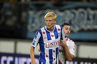 VOETBAL: HEERENVEEN: Abe Lenstra stadion 30-08-2014, SC Heerenveen - FC Utrecht uitslag 3-1, Morten Thorsby, ©foto Martin de Jong