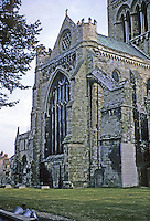 Chichester: Chichester Cathedral, Sussex. Founded 1078. Norman, Gothic. Photo '03.