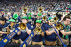 Mar. 19, 2015; The Notre Dame band plays in the second round game of the NCAA Tournament. Notre Dame defeated Northeastern 69-65. (Photo by Matt Cashore/University of Notre Dame)