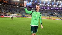 FUSSBALL WM 2014                       FINALE   Deutschland - Argentinien     13.07.2014 DEUTSCHLAND FEIERT DEN WM TITEL: Torwart Manuel Neuer jubelt