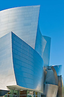 Walt Disney Concert Hall, Designed by, architect, Frank Gehry, Los Angeles, Philharmonic, exterior, building, Architecture, Architectural, Calif. California, CA, Downtown, LA