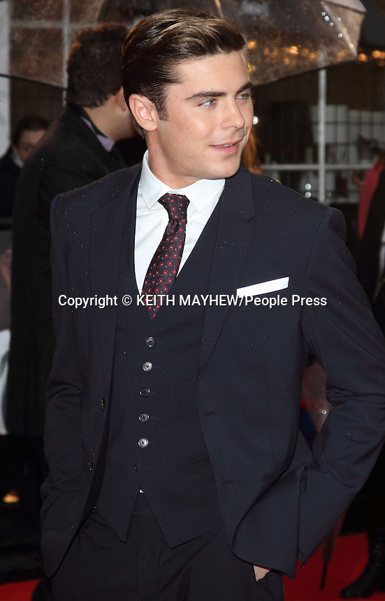London - European Premiere of 'The Lucky One' - red carpet arrivals at the Bluebird Restaurant, Chelsea, London - April 23rd 2012..Photo by Keith Mayhew