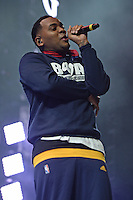 WEST PALM BEACH, FL - JULY 20: Kevin Gates performs during opening night of the High Road Tour at The Perfect Vodka Amphitheater on July 20, 2016 in West Palm Beach Florida. Credit: mpi04/MediaPunch