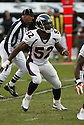 IAN GOLD, of the Denver Broncos  in action during the Broncos game against the Oakland Raiders on December 2, 2007 in Oakland, California...RAIDERS  win 34-20..SportPics