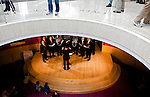 The Madison Maennerchor,  Wisconsin's oldest German men's choir during the International Festival held at the Overture Center For The Arts, in Madison, Wisconsin.