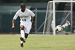 31 August 2008: Wake Forest's Michael Lahoud. The Wake Forest University Demon Deacons defeated the Florida International University Panthers 3-0 at Fetzer Field in Chapel Hill, North Carolina in an NCAA Division I Men's college soccer game.