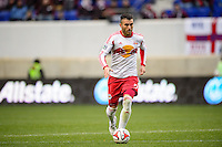 Armando (5) of the New York Red Bulls. The New York Red Bulls and Chivas USA played to a 1-1 tie during a Major League Soccer (MLS) match at Red Bull Arena in Harrison, NJ, on March 30, 2014.