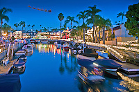 Alamitos Bay, Naples Canals, Santa Reindeers, flying; Boats; Houses; Lights; Sailboats; Yachts; holiday; travel; usa;