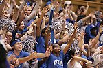 06 February 2012: Duke's Cameron Crazies. The Duke University Blue Devils defeated the University of North Carolina Tar Heels 96-56 at Cameron Indoor Stadium in Durham, North Carolina in an NCAA Division I Women's basketball game.