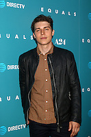 "HOLLYWOOD, CA - JULY 7: Nolan Gerard Funk at the ""Equals"" Premiere at the ArcLight Theater in Hollywood, California on July 7, 2016. Credit: David Edwards/MediaPunch"