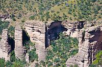 Cueva de las Ventanas, Cuarenta Casas ruins, Mexico