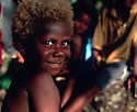 Salome, a young girl from Tembin village on the west coast of New Ireland..Tembin, New Ireland Province, Papua New Guinea