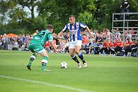 VOETBAL: DE KNIPE: 16-07-2013, Oefenwedstrijd SC Heerenveen - Leuven, Einduitslag 2-1, Yanic Wildschut, ©foto Martin de Jong