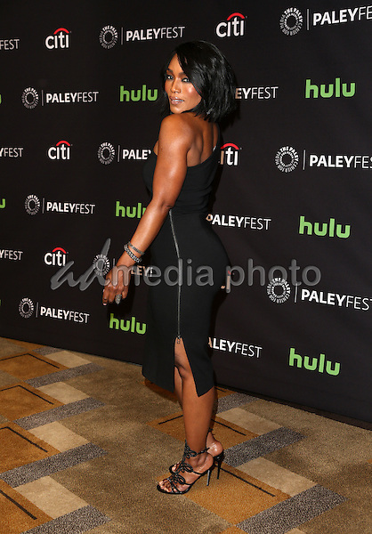 "20 March 2015 - Hollywood, Angela Bassett. The Paley Center For Media's 33rd Annual PaleyFest Los Angeles - Closing Night Presentation: ""American Horror Story: Hotel"" Held at The Dolby Theatre. Photo Credit: F.Sadou/AdMedia"