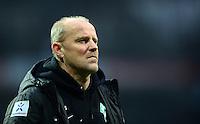FUSSBALL   1. BUNDESLIGA   SAISON 2012/2013    24. SPIELTAG SV Werder Bremen - FC Augsburg                           02.03.2013 Trainer Thomas Schaaf (SV Werder Bremen)