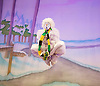 Jack and the Beanstalk <br /> by Susie McKenna with music by Steven Edis <br /> at the Hackney Empire, London, Great Britain <br /> press photocall <br /> 25th November 2015  <br /> <br /> <br /> Kat B as Snowman<br /> <br /> <br /> <br /> <br /> Photograph by Elliott Franks <br /> Image licensed to Elliott Franks Photography Services