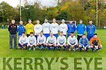 The Killarney Athletic team that played Abbeyfeale United in the FAI cup in Woodlawn on Sunday