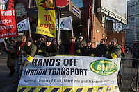 RMT-TSSA strike 4-5 January 2014