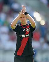 FUSSBALL   1. BUNDESLIGA  SAISON 2011/2012   3. Spieltag     20.08.2011 VfB Stuttgart - Bayer Leverkusen        Stefan Kiessling (Bayer 04 Leverkusen)