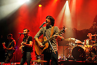 LONDON, ENGLAND - AUGUST 30: Scott Avett and Seth Avett of 'The Avett Brothers' performing at Shepherd's Bush Empire on August 30, 2016 in London, England.<br /> CAP/MAR<br /> &copy;MAR/Capital Pictures /MediaPunch ***NORTH AND SOUTH AMERICAS ONLY***