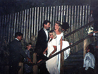 Alec Baldwin,Kim Basinger Wedding By Jonathan Green Celebrity Photography, USA