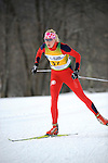 9 MAR 2011: Maria Graefnings of the University of Utah compete in the women's 5km freestyle cross country race during the 2011 NCAA Men and Women's Division I Skiing Championship held Stowe Mountain Resort and Trapp Family Lodge in Stowe, VT. Graefnings placed first to win the national title. ©Brett Wilhelm/NCAA Photos