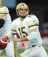 Ricky Ray Edmonton Eskimos quarterback 2003. Copyright photograph Scott Grant