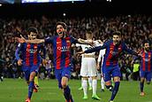 2017 UEFA Champions League football Barcelona v PSG Mar 8th