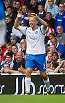 Rangers v St Johnstone....28.08.10  .Danny Grainger celebrates his goal.Picture by Graeme Hart..Copyright Perthshire Picture Agency.Tel: 01738 623350  Mobile: 07990 594431