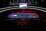 24 January 2009: The Zambonie ice preparation machines dress the ice surface prior to the NHL SuperSkills Competition, part of the All-Star Weekend at the Bell Centre in Montreal, Quebec, Canada. ***** Editorial Sales Only ***** Mandatory Photo Credit: Ed Wolfstein Photo