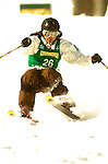 15 January 2005 - Lake Placid, New York, USA - Tae Satoya representing Japan, competes in the FIS World Cup Ladies' Moguls Freestyle ski competition, ranking 20th for the day, at Whiteface Mountain, Lake Placid, NY. ..Mandatory Credit: Ed Wolfstein Photo.