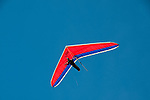 Hang gliding, hang glider, Fort Funston, San Francisco, California, USA.  Photo copyright Lee Foster.  Photo # california108380