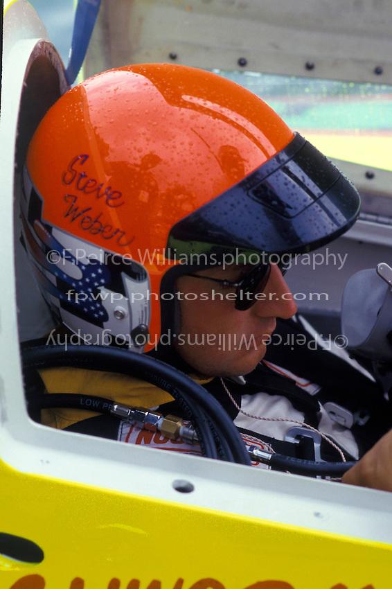 "Steve Weber, UL-23 ""Pegasus"". 1998 (Unlimited Light Hydroplane)"