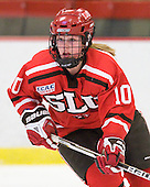 Brooke Fernandez (St. Lawrence - 10) - The Harvard University Crimson defeated the St. Lawrence University Saints 8-3 (EN) to win their ECAC Quarterfinals on Saturday, February 26, 2011, at Bright Hockey Center in Cambridge, Massachusetts.