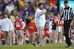 Ole Miss assistant coach Matt Luke vs. LSU at Tiger Stadium in Baton Rouge, La. on Saturday, November 17, 2012. LSU won 41-35.....