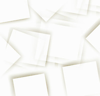 Abstract pattern of overlapping white rectangles