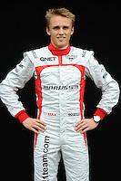MARUSSIA BRITISH DRIVER, MAX CHILTON. .Melbourne 16/03/2013 .Formula 1 Gp Australia.Foto Insidefoto.ITALY ONLY .Posato Ritratto Pilota