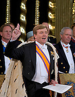 King Willem-Alexander Inauguration - Amsterdam