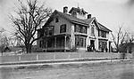 The Ted Brown Residence on East Main Street in Waterbury circa 1888.