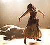 Carmen Disruption <br /> at Almeida Theatre, London, Great Britain <br /> press photocall<br /> 16th April 2015 <br /> <br /> Viktoria Vizin <br /> <br /> <br /> <br /> Photograph by Elliott Franks <br /> Image licensed to Elliott Franks Photography Services