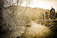 Creek Crosses - Chimayo, New Mexico