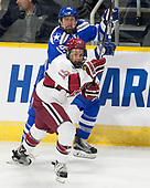 Evan Giesler (AFA - 15), Jake Horton (Harvard - 19) - The Harvard University Crimson defeated the Air Force Academy Falcons 3-2 in the NCAA East Regional final on Saturday, March 25, 2017, at the Dunkin' Donuts Center in Providence, Rhode Island.