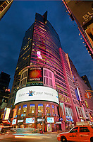 3 Times Square - The Reuters Building,  Architect Fox & Fowle, Times Square, Manhattan, New York City, New York, USA