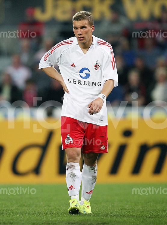Fussball 1. Bundesliga Saison 2005/2006 Lukas PODOLSKI (1. FC Koeln)